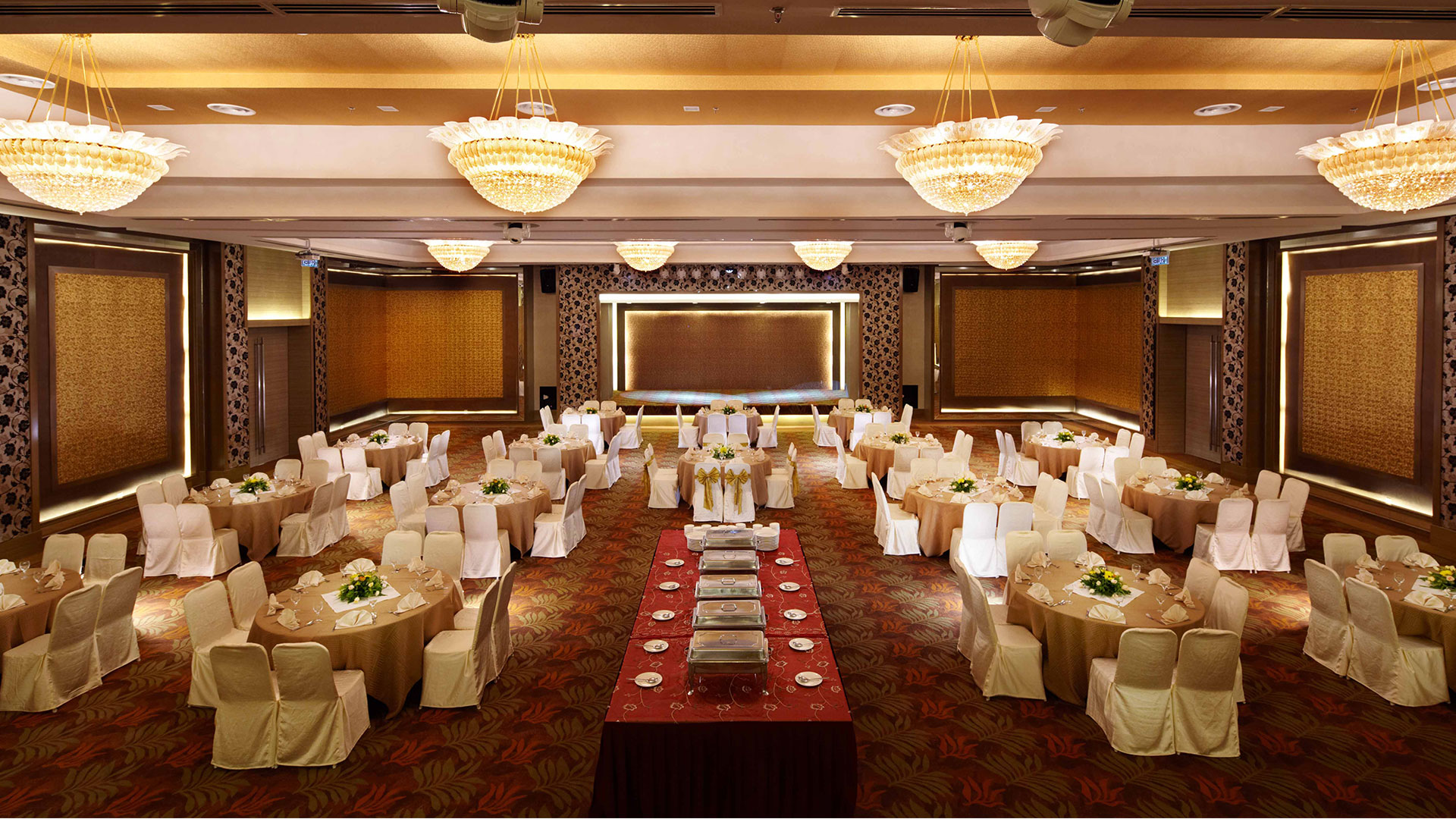 Tropicana Ballroom Ipoh wedding banquet tai thong group