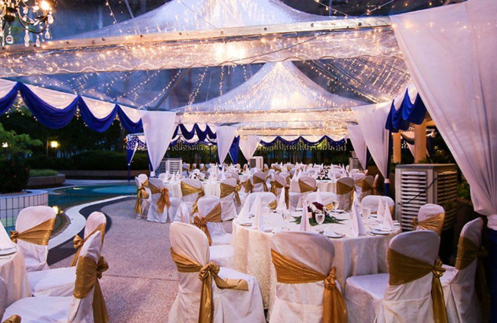 pool wedding terrace 100 pax level 3 kl wedding garden