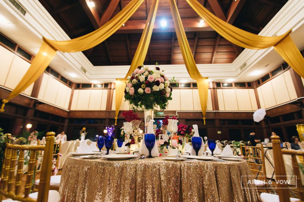 Pulai Springs Resort Wedding Johor Bahru ballroom banquet