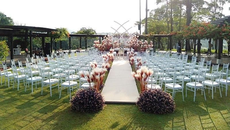 Pulai Springs Resort Wedding Johor Bahru garden wedding