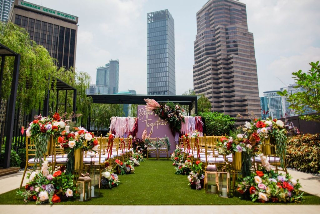 Rooftop-Garden-colony co-working space wedding malaysia kl venue