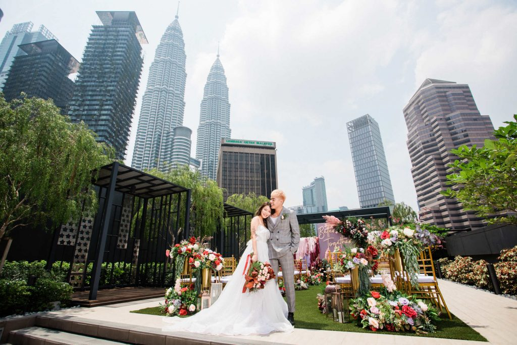 Rooftop-Garden-colony co-working space wedding malaysia twin towers kl