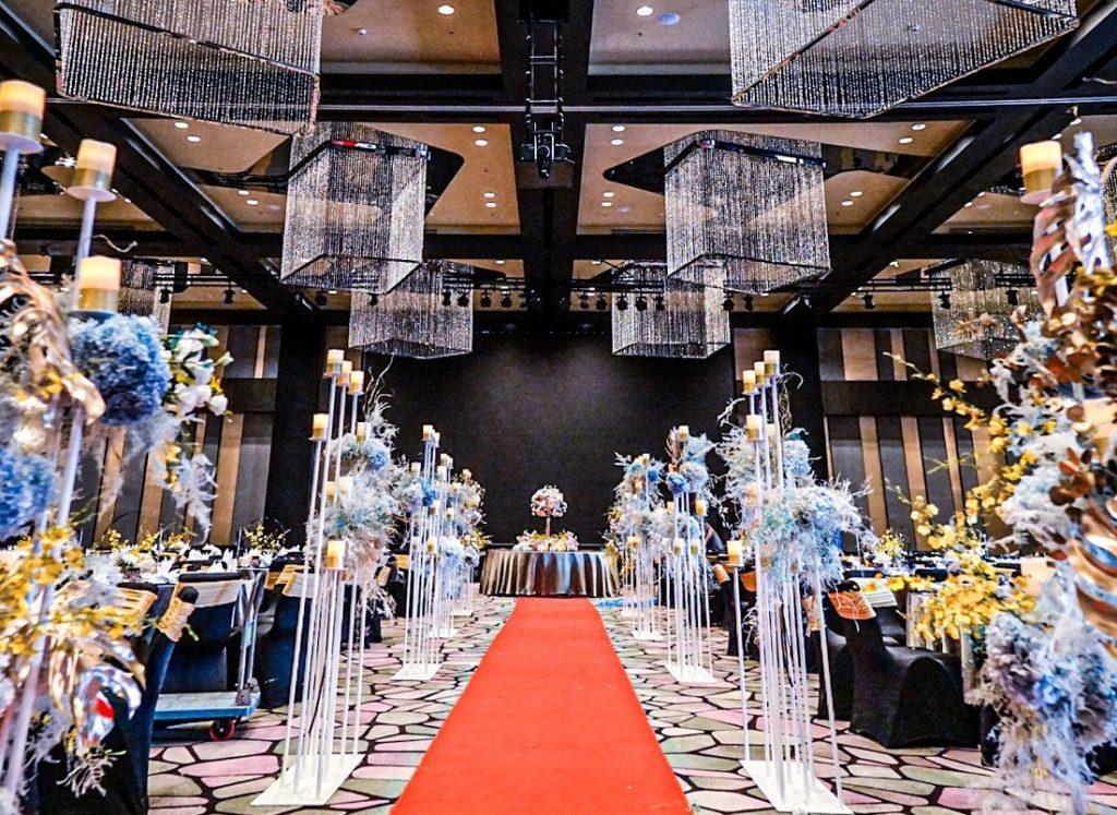 W hotel KL wedding ballroom venue malaysia grand banquet