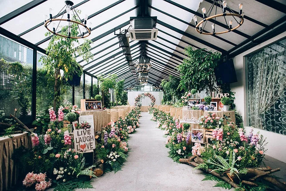 chuai heng banquet hall garden wedding kl