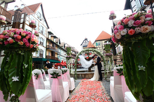 colmar tropicale berjaya hills wedding ceremony