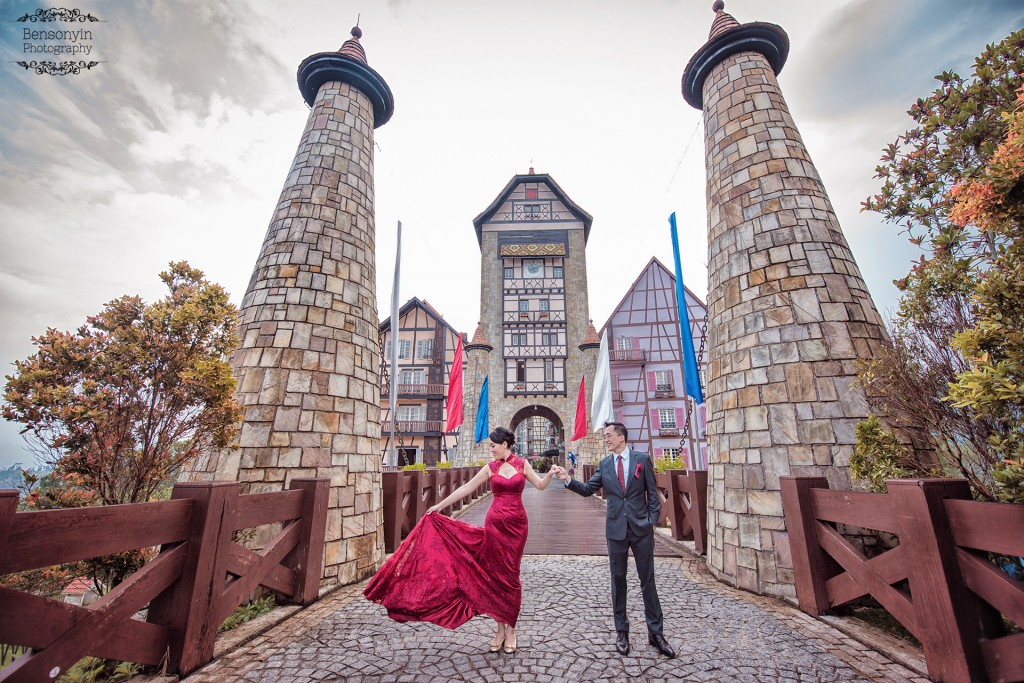colmar tropicale berjaya hills wedding photographer benson yin