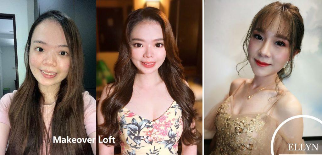 Makeup contouring wedding Malaysia