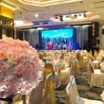 crystal crown pj wedding ballroom flower