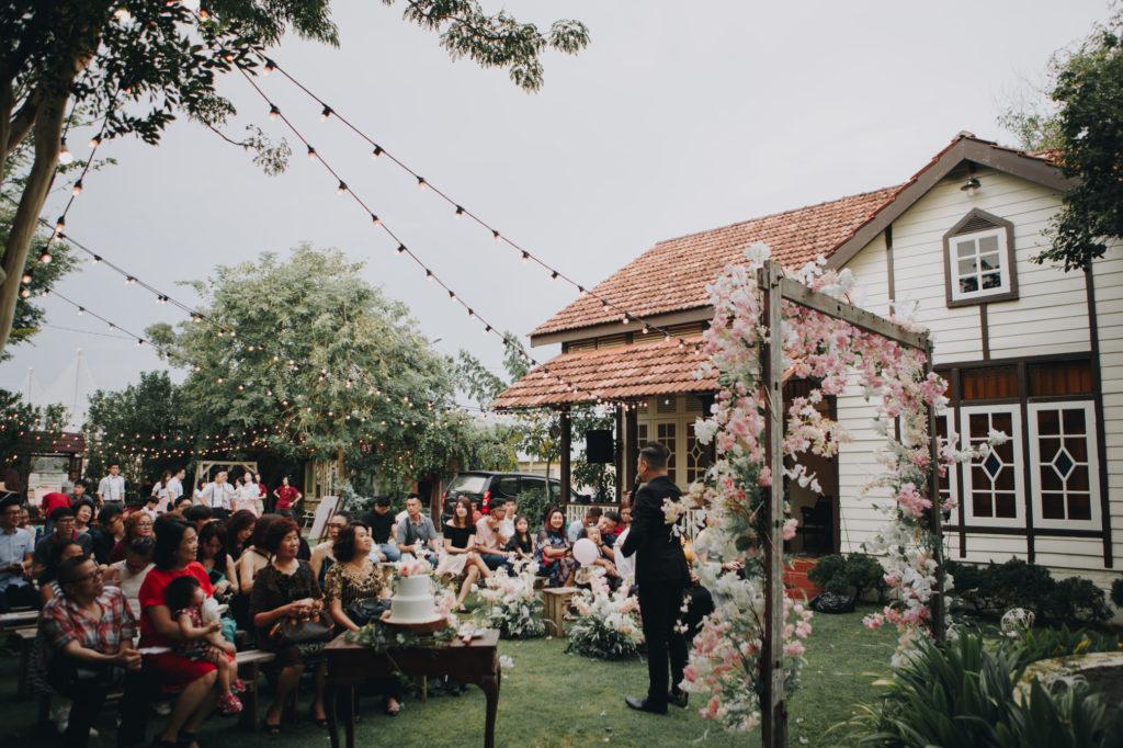england homestay wedding penang ceremony garden