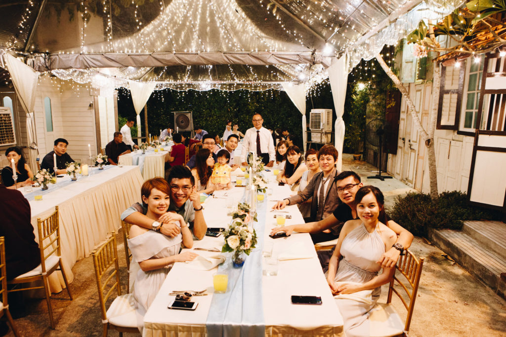 england house penang wedding