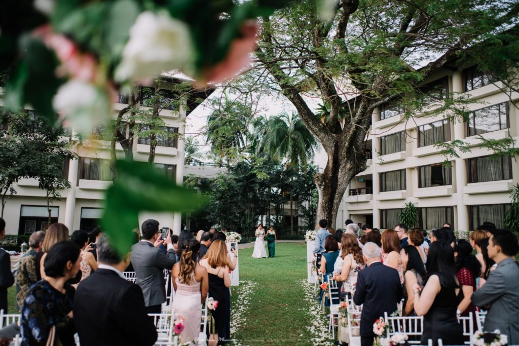 the saujana shah alam wedding colonial garden rom