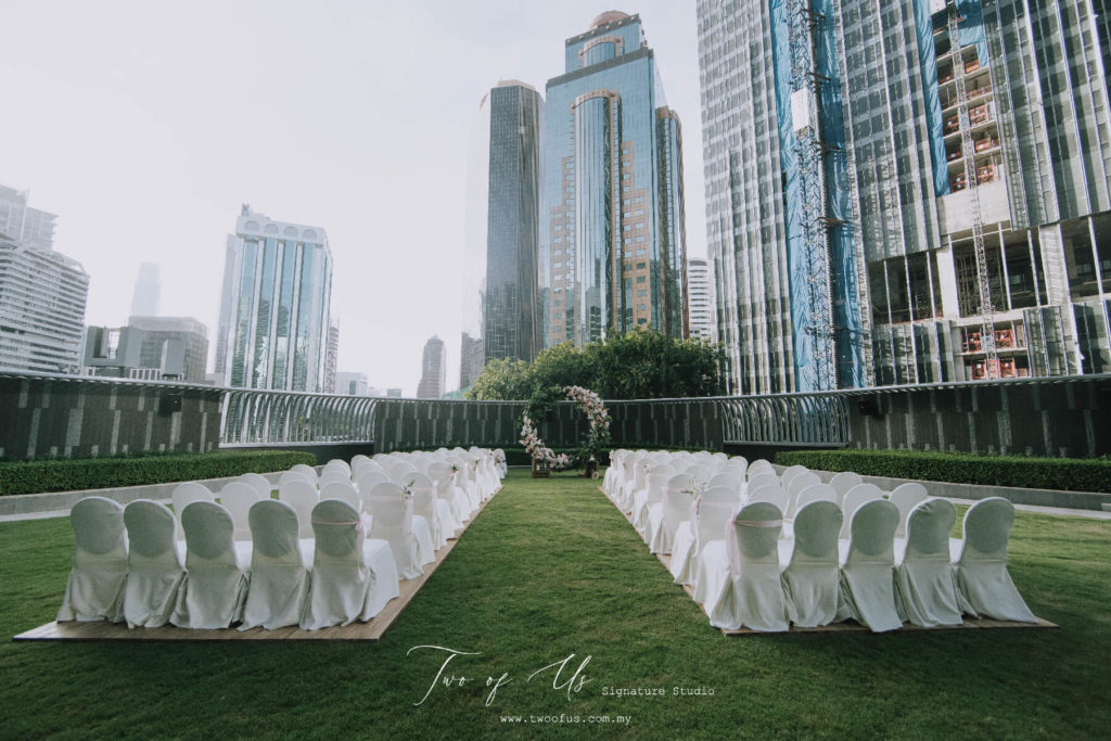 garden wedding EQ KL city