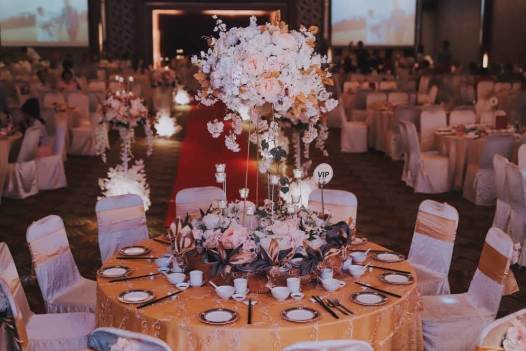 grand ballroom tropicana ipoh wedding tai thong