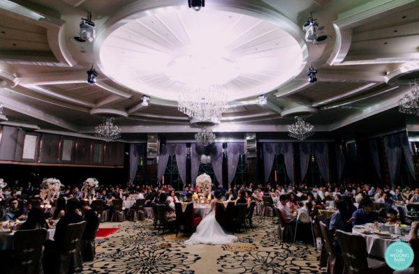 grand imperial royale ballroom wedding