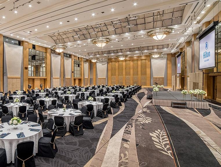 hilton kl wedding ballroom