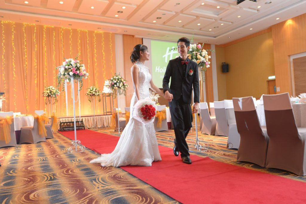 holiday inn melaka wedding banquet