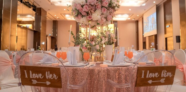 hotel jen penang wedding ballroom romantic