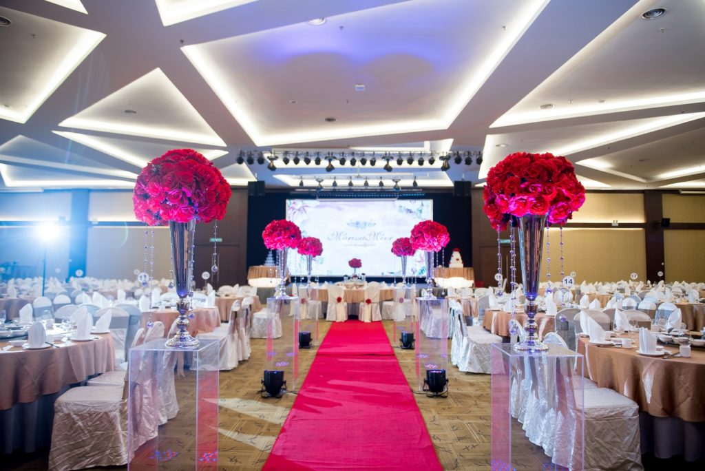 ixora penang wedding ballroom