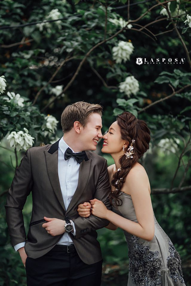 lasposa bridal gallery ss2 malaysia gown shop couple
