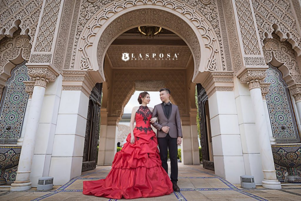 lasposa bridal gallery ss2 malaysia gown shop pre wedding