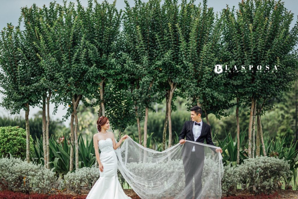 lasposa bridal gallery ss2 malaysia gown shop pre wedding trees