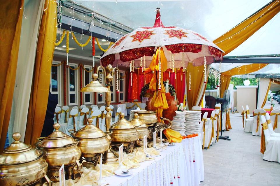 Indian wedding buffet caterer Malaysia