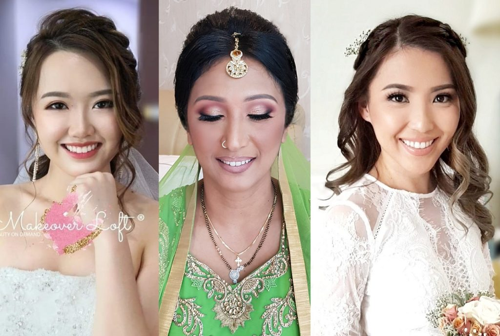 indian malay chinese bridal makeup expert