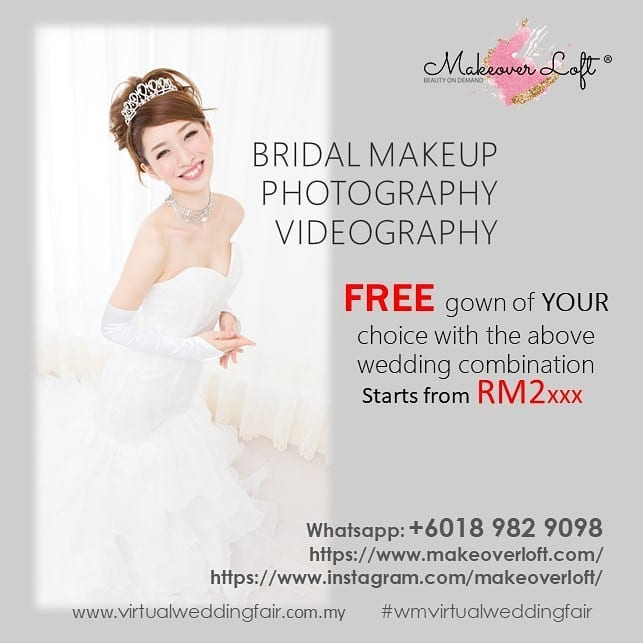makeover loft wedding promotion makeup offer