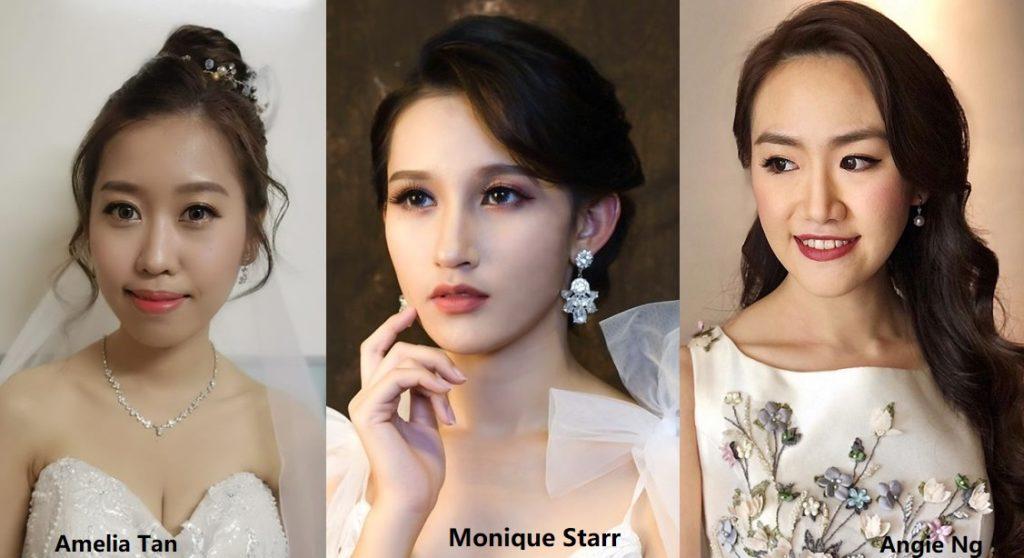 Modern wedding makeup Malaysia