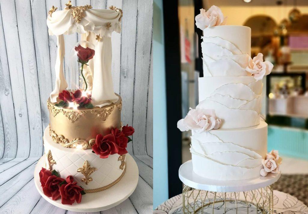 designer wedding cake Malaysia