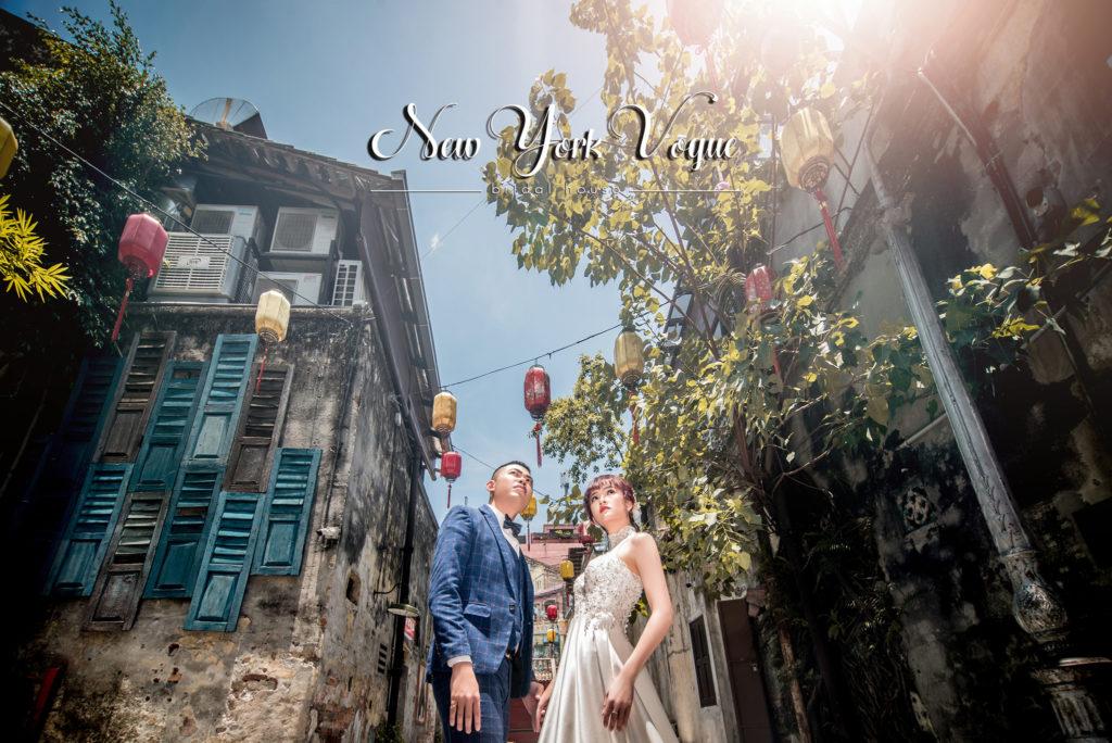 new york vogue bridal shop studio gallery pre wedding photography rustic