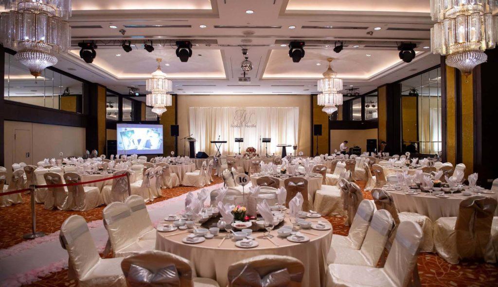 parkroyal penang wedding ballroom victor hew