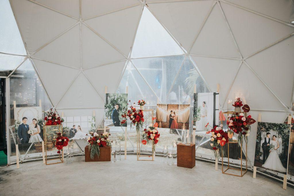 pathway glamz genting wedding decorations