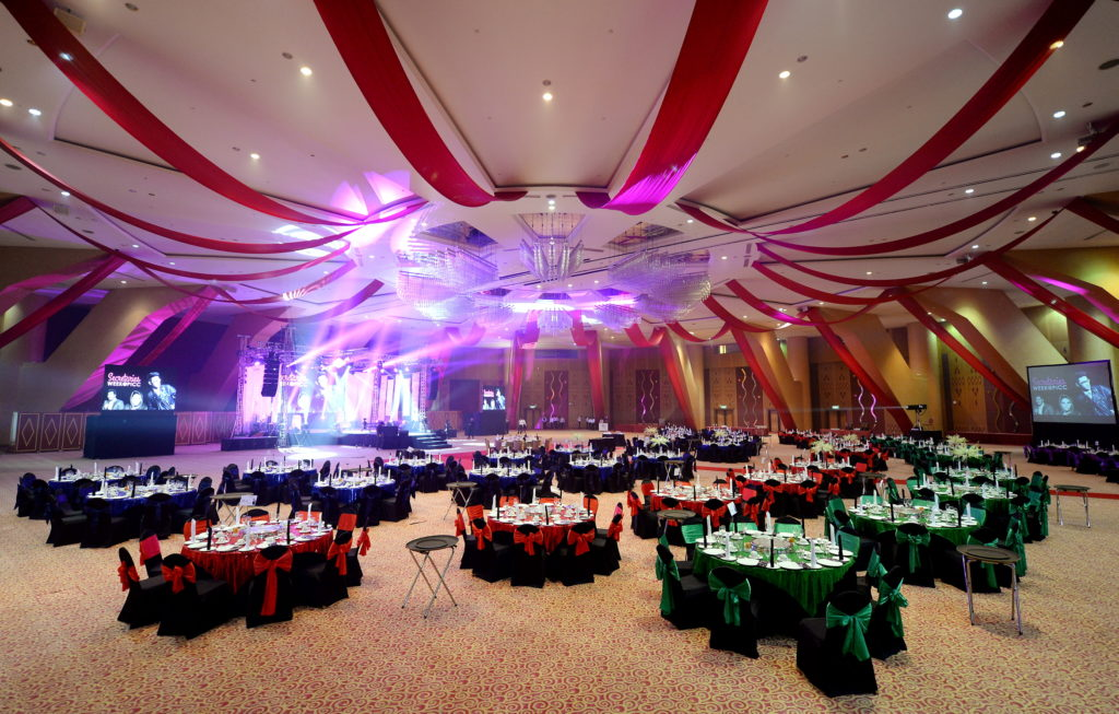 perdana hall picc wedding putrajaya convention centre