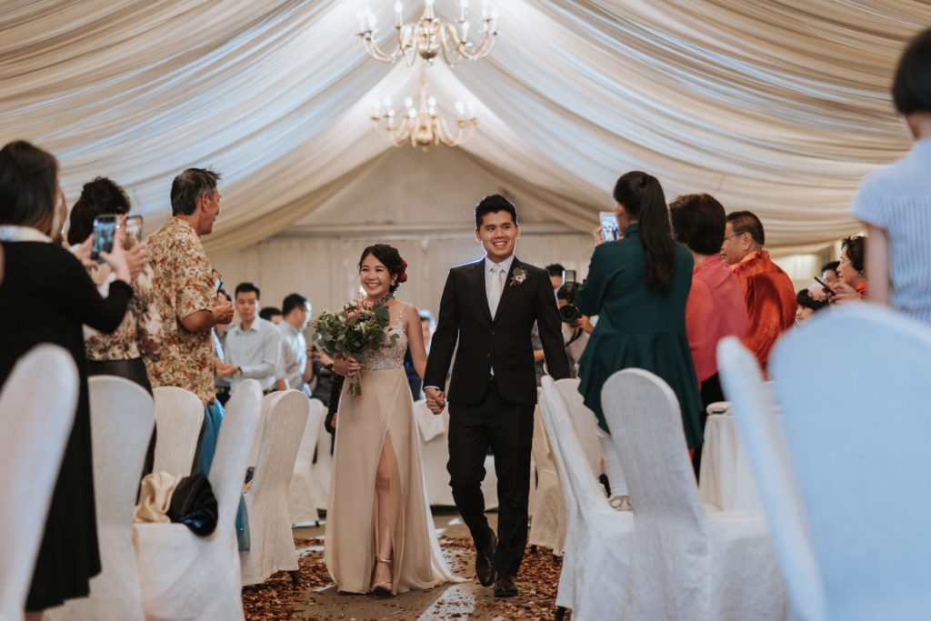 rasa sayang penang wedding banquet tent fabric