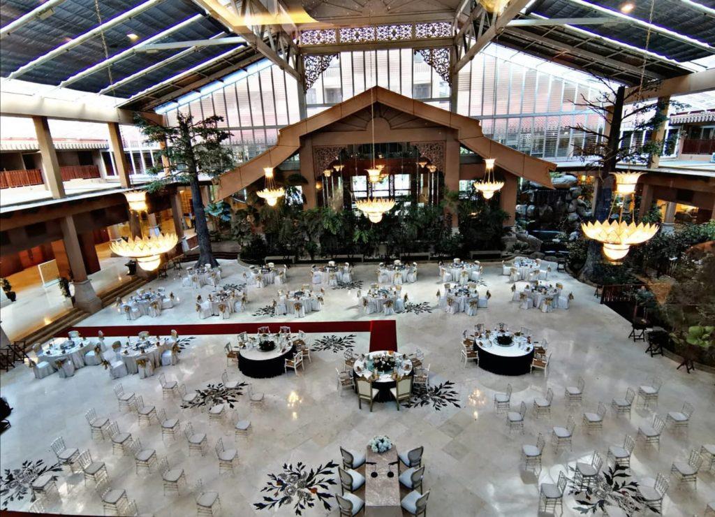 royale chulan klcc wedding indoor garden
