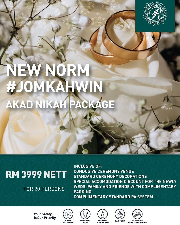 royale chulan klcc wedding nikah package 2020 new norm