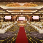 sunway resort wedding romantic ballroom