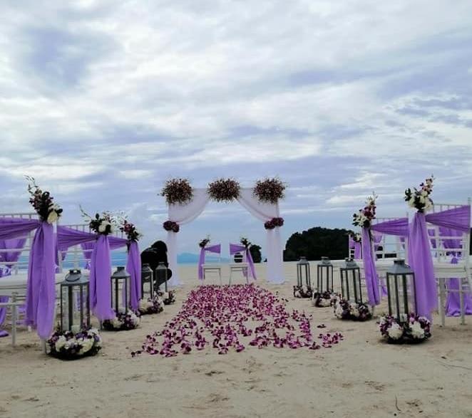 Tanjung Rhu Langkawi beach wedding