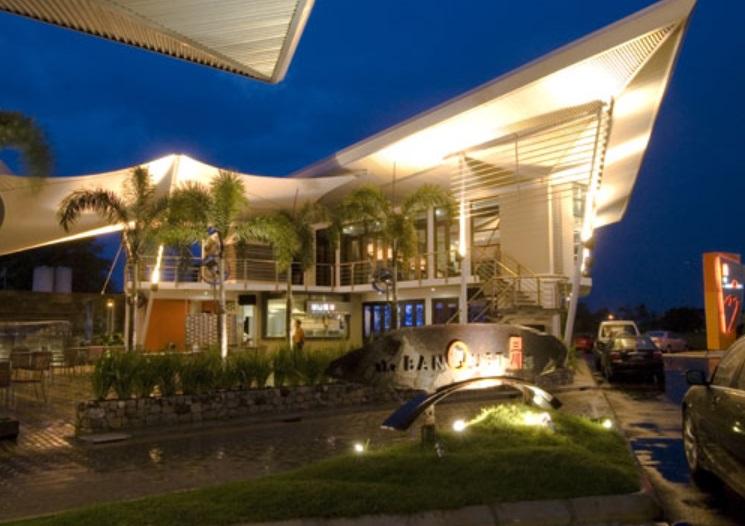 the BanQuet kuching wedding building