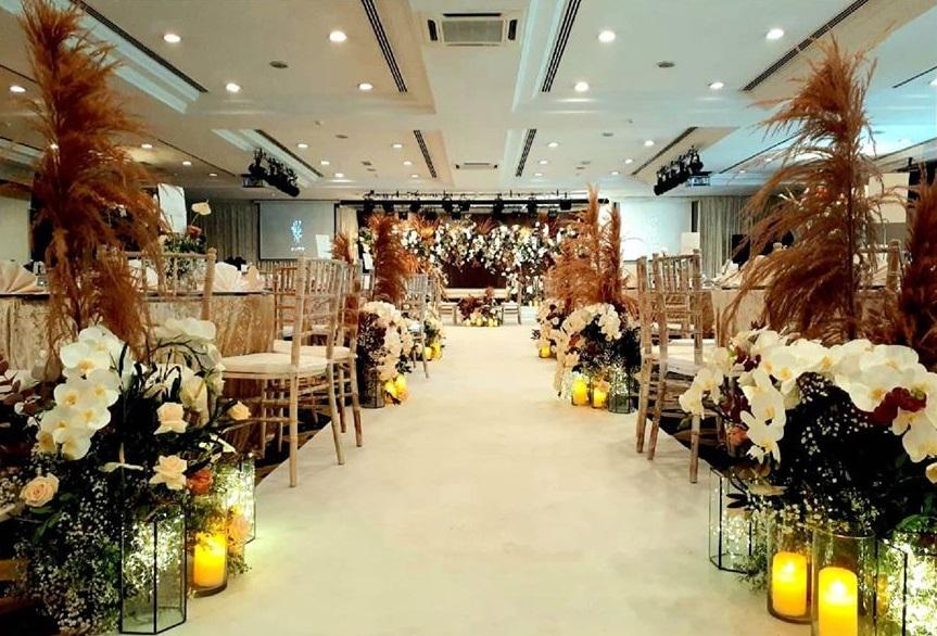 tpc kl garden wedding nice decor