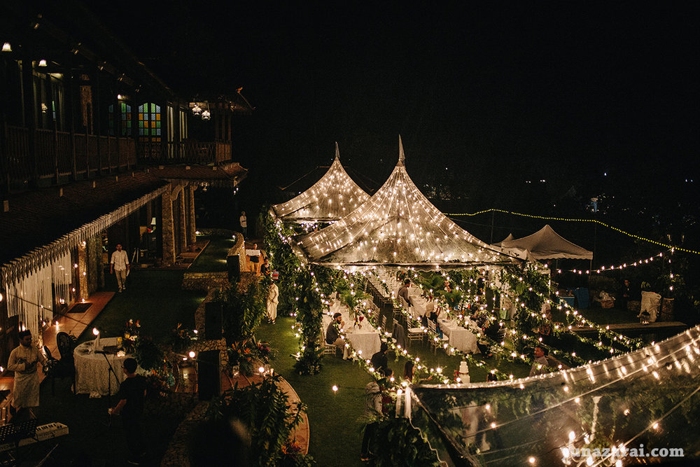 puncak rimba transparent tent ysa events decor wedding