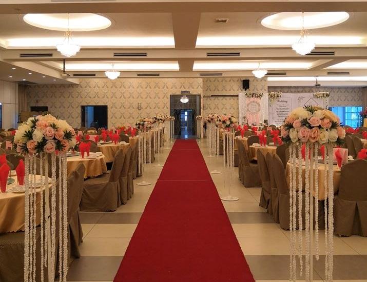 tropical garden restaurant kulai johor wedding hall