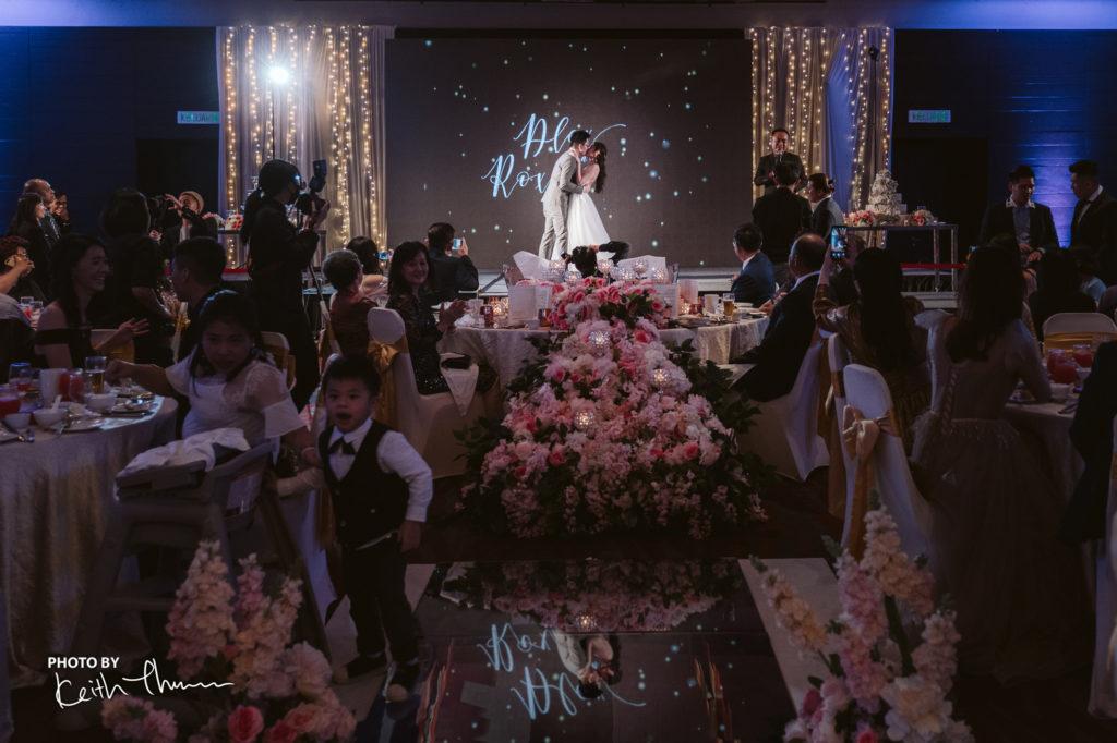 wedding at G Hotel Penang photo by Keith ballroom