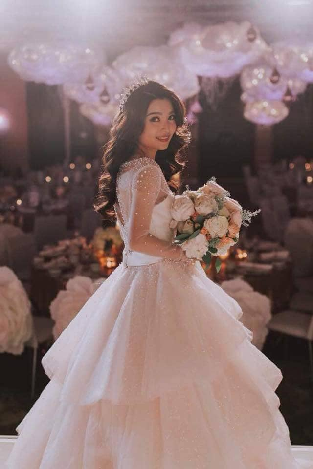 gelly wee gown wedding KL malaysia