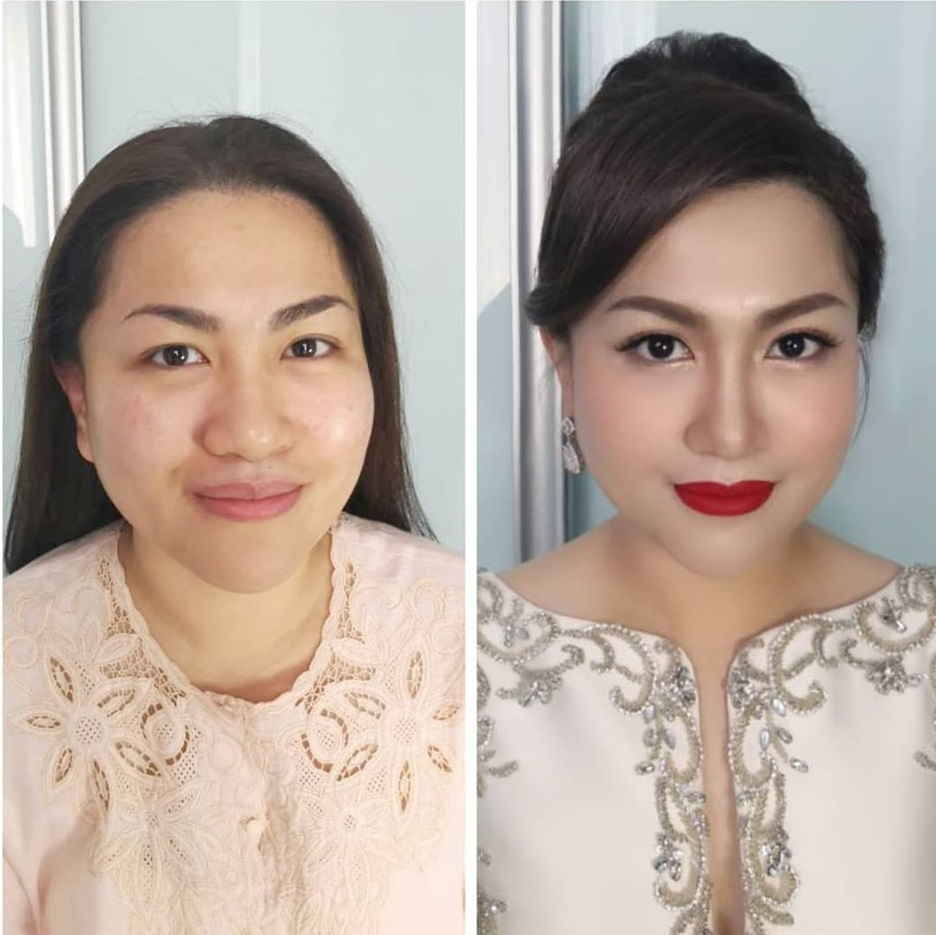 makeover loft before after makeup bridal