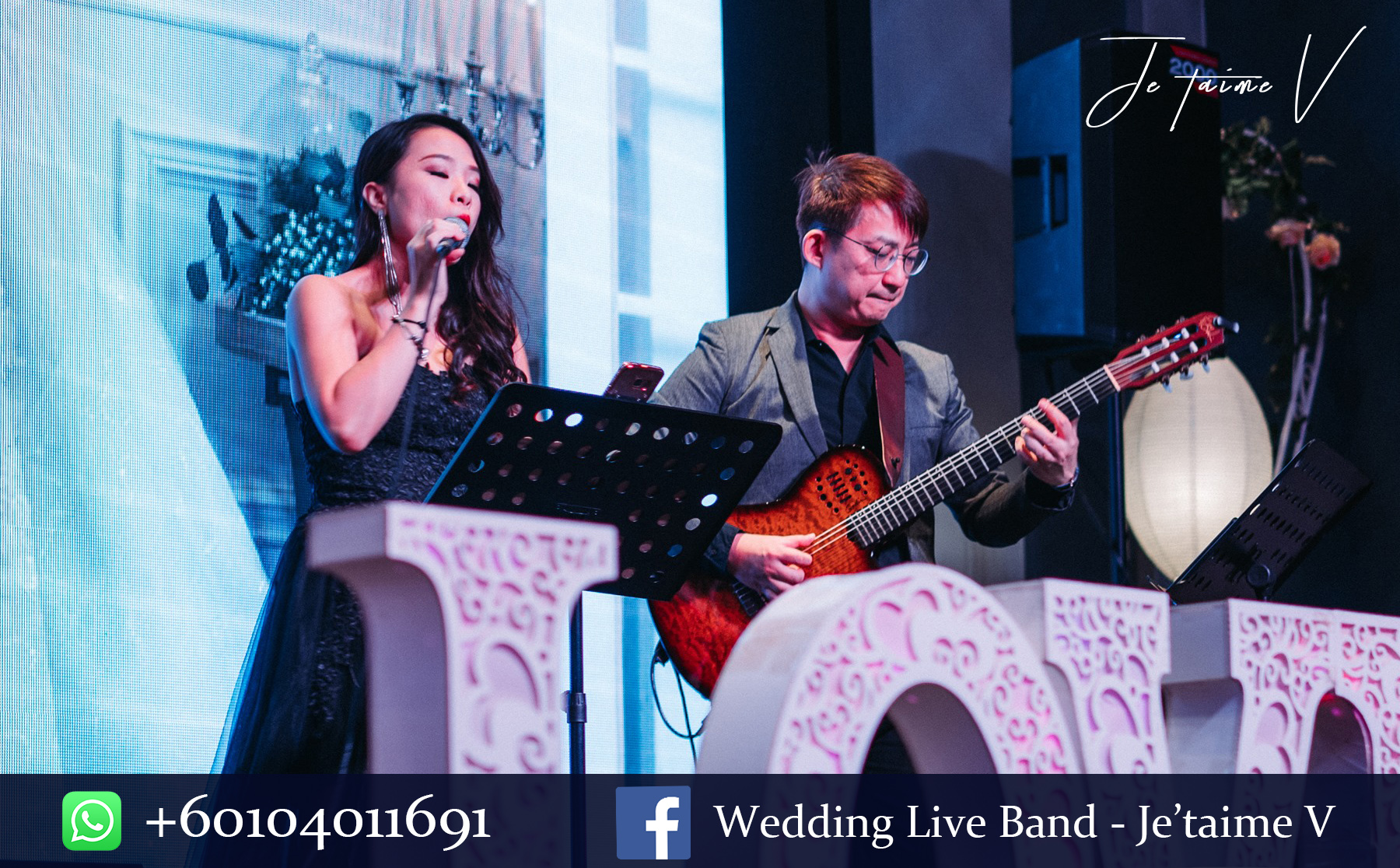 Wedding live band Malaysia Jazz