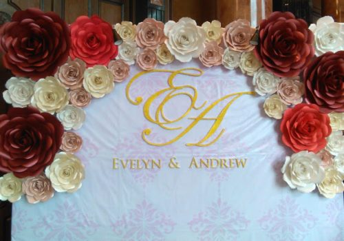wedding photobooth backdrop idea