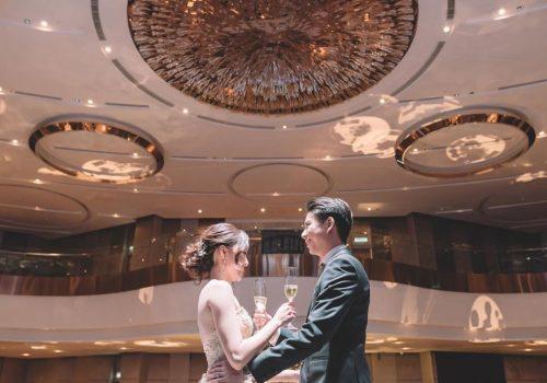EQ KL hotel wedding banquet ballroom chandelier