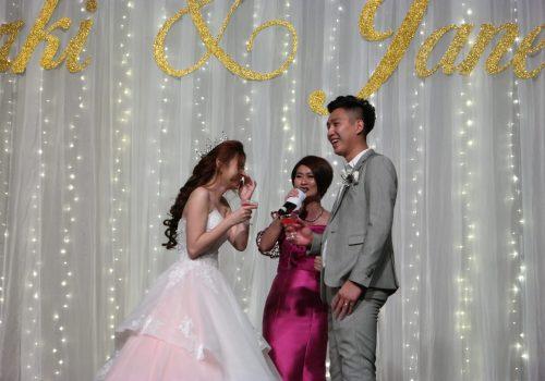 professional wedding emcee